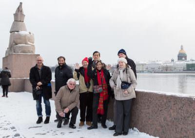 Пресс тур для иностранных журналистов, 2016