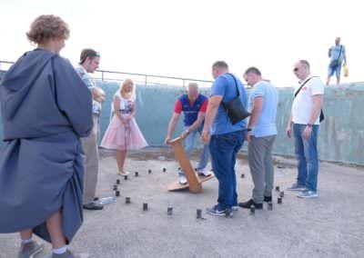 Тимбилдинг в форте Константин