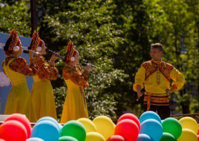 День города в парке И.В. Бабушкина